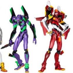 Revoltech Yamguchi New Evangelion Figure Box (4 Evas)