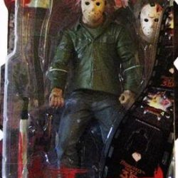 Mezco Toyz Cinema Of Fear Series 4 Action Figure Jason Voorhees (Friday The 13Th Part 3)