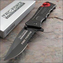 Tac-Force Speedster Rescue Fire Dept. Seat Belt Cutter Knife