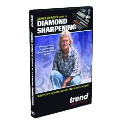 Trend Dvd/Dws/Jb Diamond Whetstone Sharpening Dvd Featuring James Barry