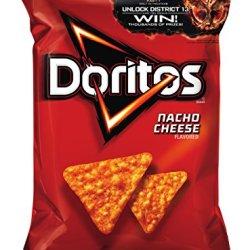 Doritos Tortilla Chips, Nacho Cheese, 11 Oz