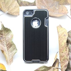Anko Cool Robust Multi-Functional Metal Protective Phone Case With A Small Swiss Army Knife For Apple Iphone 4 4S (Black)