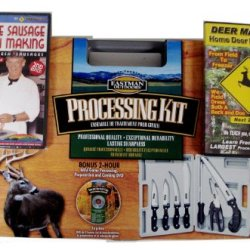 Eastman Outdoors 7 Pc Hunting Game Processing Kit W Dvd And Deer Masters Dvd Combo Pak
