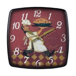 Sterling Industries 118-010 Busy Chef Clock