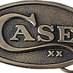 Case Oval Belt Buckle.