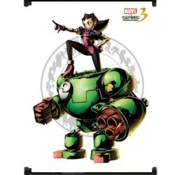 Marvel Vs Capcom 3 Tron Bonne Game Fabric Wall Scroll Poster (16X21) Inches