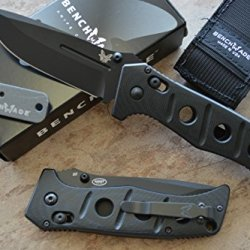 Benchmade 275Bk Adamas Tactical Axis Lock Folder W/ Free Benchmade Mini Knife Sharpener