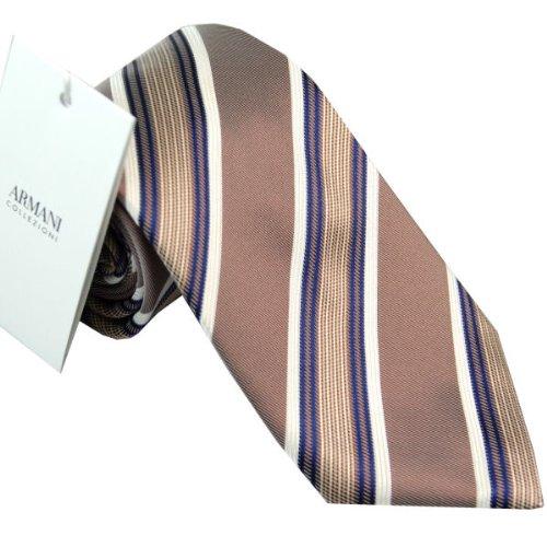 アルマーニ ARMANI COLLEZIONI ネクタイ necktic イタリー製 シルク100% 2p248x56