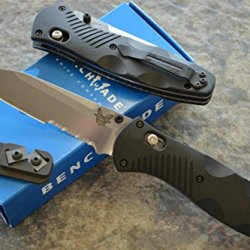 Benchmade 583S Barrage Assisted Opening Knife With Free Benchmade Sharpener