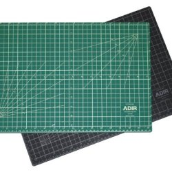 Adir Professional Self Reversible Healing Cutting Mat, 18 By 36-Inch, Green/Black