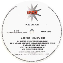 Kodiak - Long Knives - Aaa Recordings - Trip 003