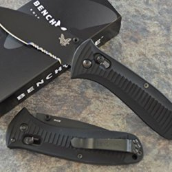 Benchmade 520Sbk Presidio Military Axis Lock Knife With Free Benchmade Bottle Opener