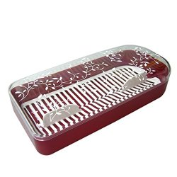 Loving Home Utensil Case For Spoons And Chopsticks - Red
