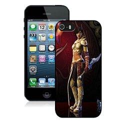 Diy Rift Girl Knife Arm Look Iphone 5 5S 5Th Black Phone Case