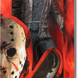 """Friday The 13Th Jason Voorhees 19"""" Action Figure"""