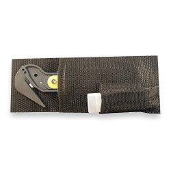 Utility Knife Holsters, Nylon, Black