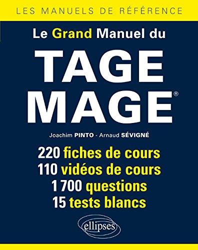 Le Grand Manuel du Tage Mage® 220 Fiches de