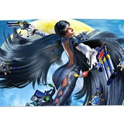 A Wide Variety Of Bayonetta Game Characters Desk & Mouse Pad Table Play Mat (Bayonetta 14)