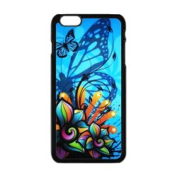 Generic Mobile Phone Cases Cover For Apple Iphone 6 Plus Case 5.5 Inch Case Fashionable Art Designed With Beautiful Butterfly Personalized Shell Cell Phone Protect Skin