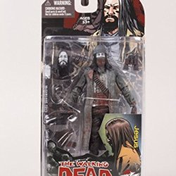 Mcfarlane Toys The Walking Dead Comic Book Jesus Action Figure [Bloody