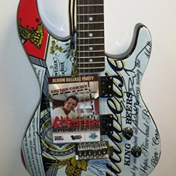 Jason Aldean, Dierks Bentley & Easton Corbin Signed Autograph Budwesier Electric Guitar Country Music