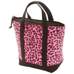 Exclusive Coolers Incomparable Luggage Pink Leopard Lunch/Cooler Bag Standout