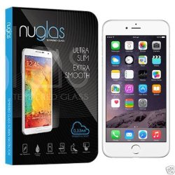 Nuglas 100% Genuine Premium Tempered Glass Screen Protector For Apple/Sony/Lg (Iphone 6 4.7'')