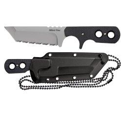 Cold Steel Mini Tac Tanto Serrated Knife