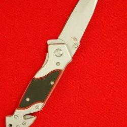 """8.5"""" New Spring Assist Fire Fighter Emt Folding Pocket Knife"""