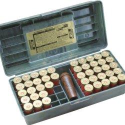 Mtm 50 Round Shotshell Handled Case (12 Gauge, Wild Camo)