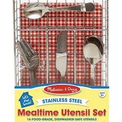 Melissa & Doug Let'S Play House! Mealtime Utensil Set