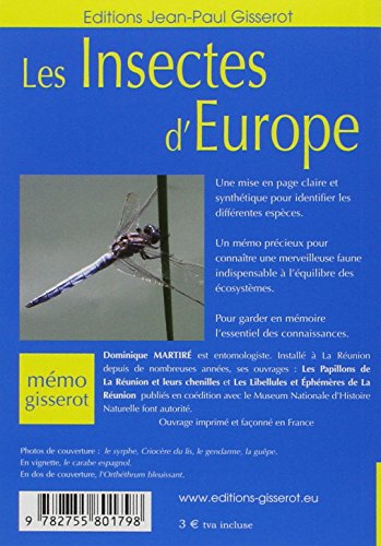 Les insectes dEurope - MEMO
