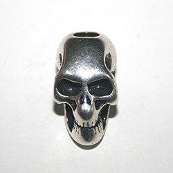 New 10 Pcs/Lot Skeleton Skull ,Knife /Flashlight /Paracord Accessories Pendant Diy ,No14