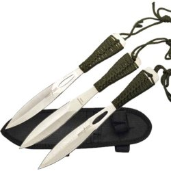 Perfect Point Tk-013-3 Throwing Knife Set 7.5-Inch Overall