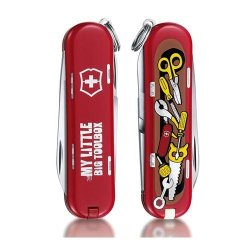 "Victorinox Swiss Army Classic Sd 58Mm / 2.28"" Pocket Knife, My Little Big Toolbox, 2015 Limited Edition"