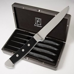 Fortessa Vaquero Full Size Steak Knife 4 Pc. Boxed Set
