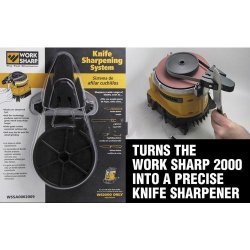 Knife Sharpening System Add-On For The Work Sharp 2000-2 Pack