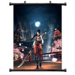 """Ninja Gaiden Videogame Fabric Wall Scroll Poster (32"""" X 46"""") Inches"""