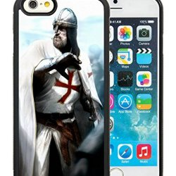 Diy Assassins Creed Desmond Miles Guard Helmets Knife Fist Attack Iphone 6 4.7 Inch Black Phone Case