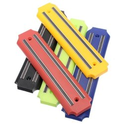 Wall Mount Magnetic Knife Storage Holder Rack Kitchen Tool 5 Color Color Yellow