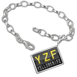 Charm Bracelet Set Yzf Airport Code For Yellowknife - Neonblond