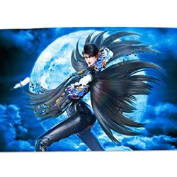 A Wide Variety Of Bayonetta Game Characters Desk & Mouse Pad Table Play Mat (Bayonetta 3)