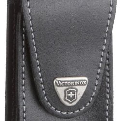 Victorinox Swiss Army Swisschamp Xlt Pouch, Leather, Black