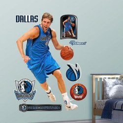 (49X78) Dirk Nowitzki 2012 Wall Decal
