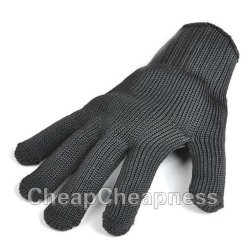 Static Resistance Glove Stainless Steel Wire Safety Work Anti-Slash Cut Proof