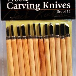 Jack Richeson Wood Carving Tool, Set Of 12