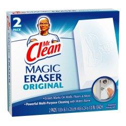 Mr Clean Erase And Renew Magic Eraser, Original, 2 Count (Pack Of 3)