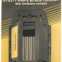 Enkay 333-C  Knife Blade Holder With 100 Blades, Carded
