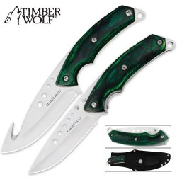 Timber Wolf Custom Skinning Combo Green