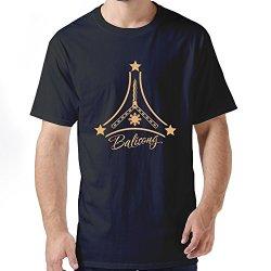 Stabe Men Balisong T-Shirt 100% Cotton Geek Black